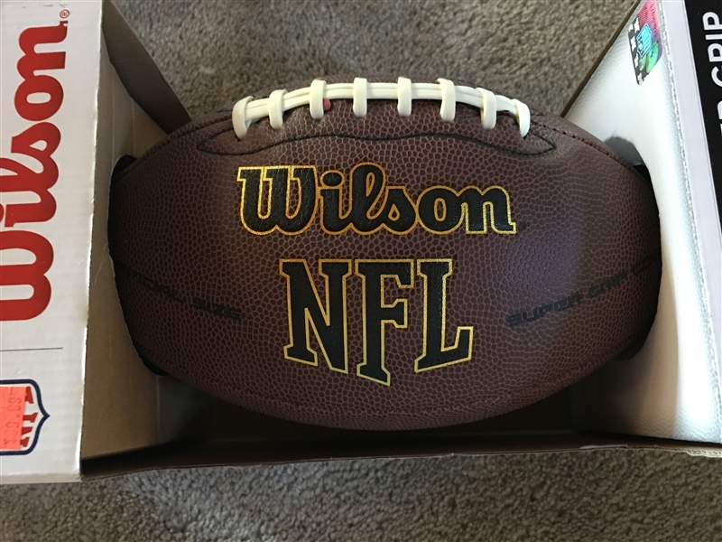 A J GREEN SIGNED on WILSON NFL FOOTBALL New in BOX