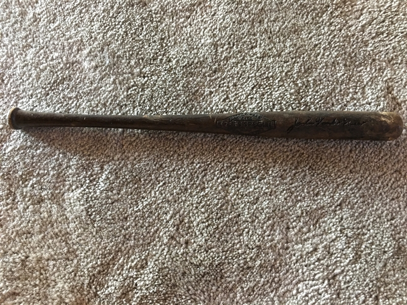 1930s JOHNNY VANDERMEER 15 MINI REDS BAT 80 Years Old