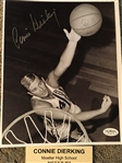 CONNIE DIERKING MOELLER SIGNED 8x10 Beacats Royals JSA COA