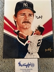 DON MATTINGLY SIGNED 8x10 From his Old Restr.