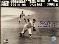 DON LARSEN SIGNED AND INSCRIBED 8x10 PHOTO