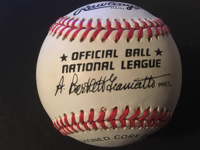 KAL DANIELS MOELLER SIGNED NL BALL in BOX