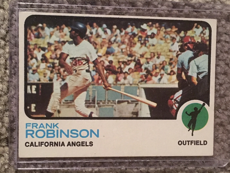 1973 SET BREAK: FRANK ROBINSON HOF #175