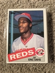 1985 TOPPS 29 CARD SET w 3 DIFF ROSE, ERIC DAVIS RC+