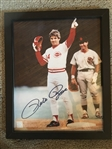 PAPER 8x10 FRAMED SIGNED PETE HIT 4192