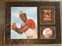 FRANK ROBINSON 11x14 SIGNED + MAT DISPLAY w COA