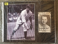 WAITE HOYT PLASTIC WRAPPED SIGNED 11x14 DISPLAY