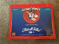 LOONEY TUNES SERIES 1 RED 99 CARD SET 1990