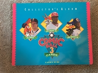 COMIC BALL 3 with GRIFFEY Jr & Sr 99 CARDS 9 Holograms