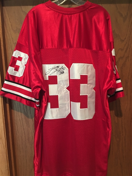 LAURINAITIS SIGNED BUCKEYES JERSEY XL w NEW TAGS $285 on eBay