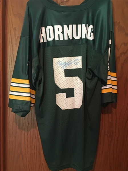 PAUL HORNUNG MOELLER SIGNED STARTER JERSEY with TAGS HOF