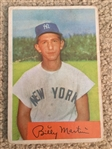 BILLY MARTIN 1954 BOWMAN Bk $80 to $240.00