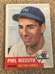 PHIL RIZZUTO 1953 TOPPS #114 $250-$750.00 WoW
