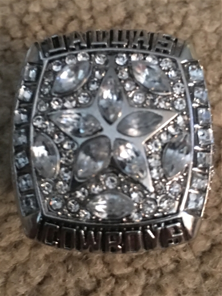 1995 COWBOYS AIKMAN SB#5 SB 30 REPLICA RING Sz 11