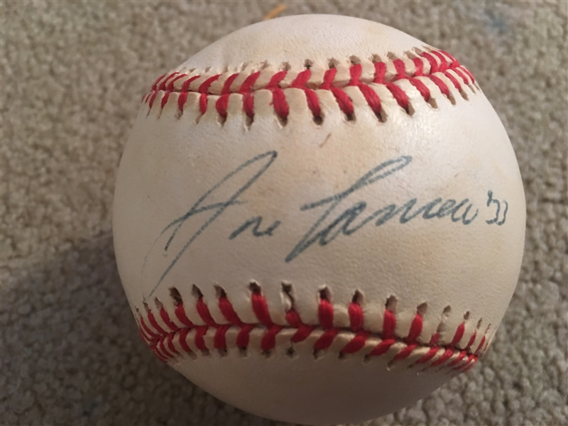 JOSE CANSECO SIGNED VTG AL BASBAALL