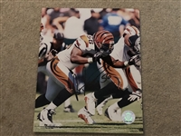 BRIAN SIMMONS Signed Bengals Photofile 8x10