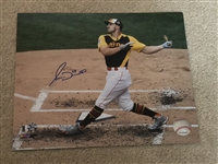 ADAM DUVALL HOME RUN DERBY Signed Photofile 8x10