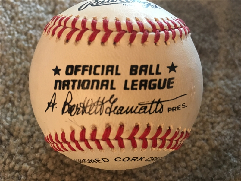DUKE SNIDER BROOKLYN DODGERS SIGNED GIAMATTI NL BALL Mike