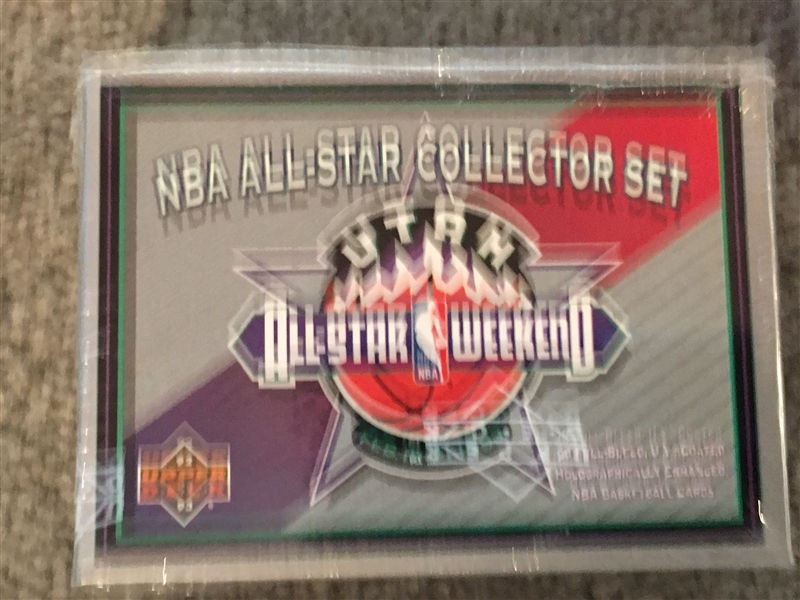 NBA ALL STAR BASKETBALL SEALED SET with MICHAEL JORDAN Mint !!