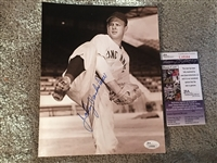 JOHNNY VANDERMEER Back to Back NO HITTERS 8x10 JSA COA