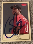 SEAN CASEY HAND SIGNED 2005 FLEER