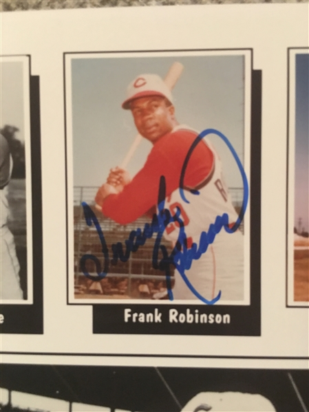 FRANK ROBINSON SIGNED 8x10 PHOTO ~ Add More Autogs