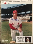 DON GULLETT MOELLER SIGNED 8x10 PHOTO with SHOW TICKET