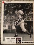 GEORGE FOSTER MOELLER SIGNED 8x10 PHOTO with SHOW TICKET