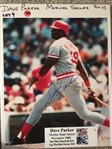 DAVE PARKER MOELLER SIGNED 8x10 PHOTO with SHOW TICKET