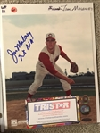 JIM MALONEY 2 NO HITTERS SIGNED 8x10 with TI STAR and MLB COAS 4444