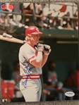BUDDY BELL RARE REDS SIGNED 8x10 PHOTO with $20 JSA COA STICKER
