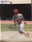 BRET BOONE REDS SIGNED 8x10 PHOTO - Never Sold One