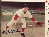 $ ART FOWLER $ 1954 - 1957 RARE SIGNED 8x0 PHOTO Never Sold One $$