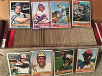 1976 TOPPS BASEBALLL NEAR / PARTIAL SET Nice Condition READ!!