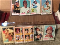1978 TOPPS BASEBALL PARTIAL / NEAR SET Beauties !! READ !! Books $100.00- $250.00