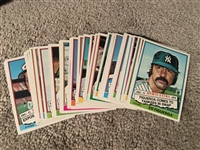 "1976 TOPPS BASEBALL ""TRADED"" SET Missin 1 or 2 Fill it at Moeller Cheap While Youre There"