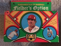 PETE ROSE FIELDERS OPTIONS 165 CARD GAME Mint in Box