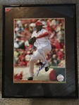 JOHNNY CUETO SIGNED 8x10 in 11x14 FRAME