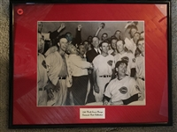 1940 REDS WORLD SERIES CHAMPS PHOTO in 11x14 FRAME - Very Cool