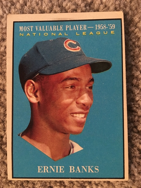 ERNIE BANKS 1961 TOOPS ALL STAR #485 $40.00- $120.00