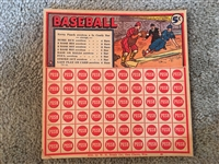Coolest Item: 1930s NEAR MINT BASEBALL PUNCH BOARD - Unpunched Beauty !!