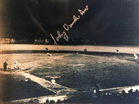 JOHNNY VANDERMEER SIGNED 8x10 PHOTO 1930s 40s REDS Back to Back No Hitters