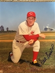 DAVE BRISTOL REDS MANAGER SIGNED 8x10 PHOTO...NEVER SOLD ONE !!!!