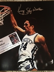 "KENNY ""SKY"" WALKER MOELLER SIGNED KENTUCKY WILDCATS 8x10 PHOTO w SHOW TICKET"