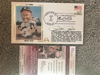 PETE ROSE SIGNED BREAKS TY COBBs RECORD 1st DAY COVER 10/8/1985 with $20 JSA COA