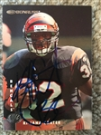 KAJANA CARTER BENGALS SIGNED CARD