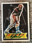 CRIS COLLINSWORTH BENGALS SIGNED CARD