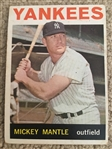 MICKEY MANTLE 1964 TOPPS #50 Books $500.00 to $1500.00
