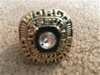 PITTSBURGH PIRATES 1971 World Series REPLICA RING ROBERTO CLEMENTE Sz 11
