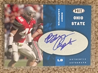 BOBBY CARPENTER AUTOGRAPHED ROOKIE OHIO STATE BUCKEYES in OSU JERSEY